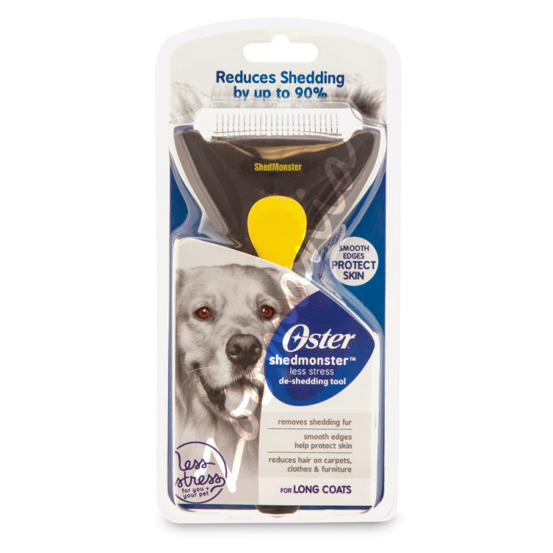 Филиращ гребен за кучета с дълга козина Shedmonster™ Long Coat