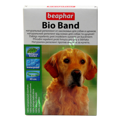 Кучешки противопаразитен нашийник с натурални репеленти