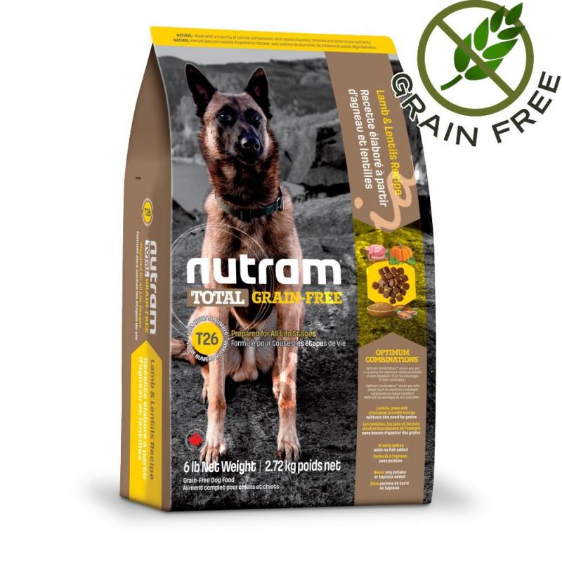 Хипоалергична и холистична кучешка храна T27 Nutram Total Grain-Free® Chicken & Turkey Dog Small Breed Dog Food