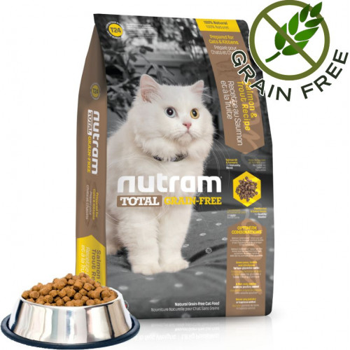 Total Grain Free Trout & Salmon Cat - 1 кг от чувал
