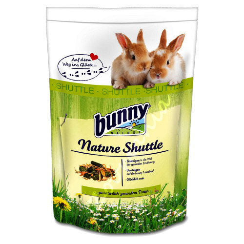 Nature Shuttle 0.6кг + Bunny Basic 0.75кг