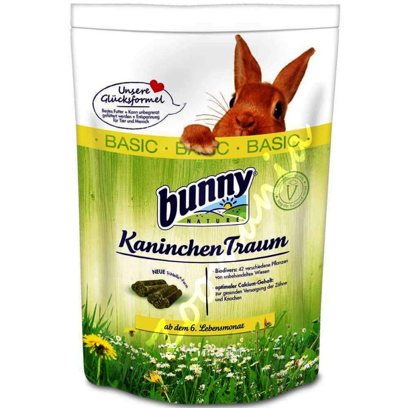 Качествена храна за декоративно зайче - Bunny Kaninchentraum Basic