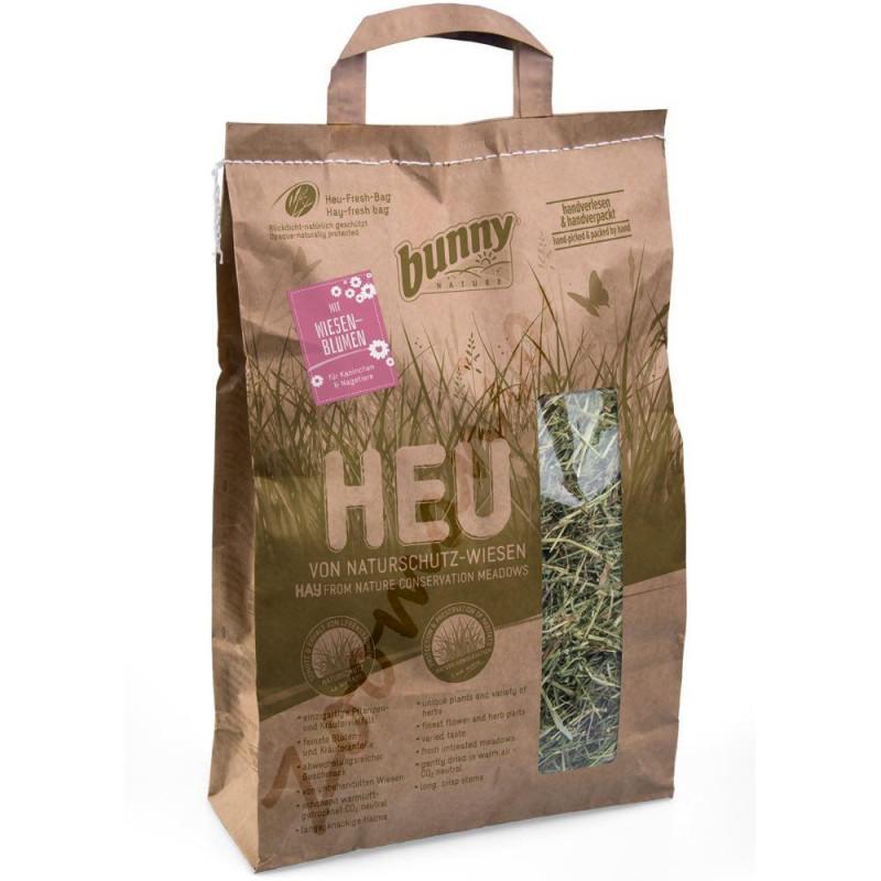 Качествено сено за гризачи обогатено с полски цветя и добито от защитени ливади - 0.250 кг