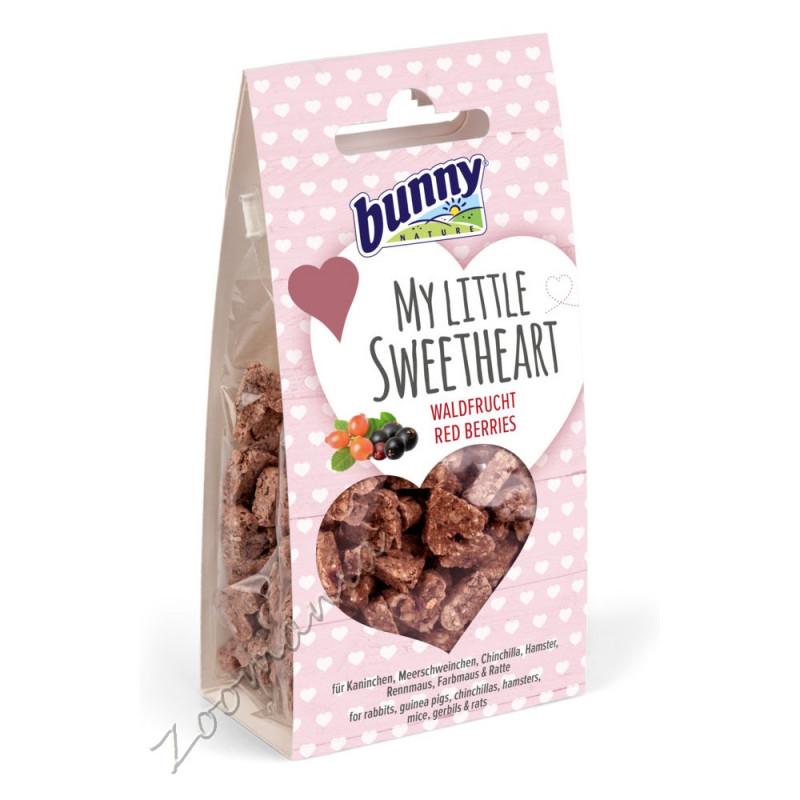 Качествена допълваща храна за гризачи Bunny My Little Sweetheart с горски плодове - 35 гр