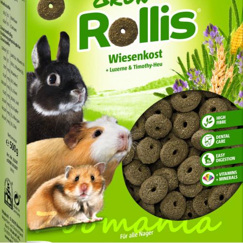 Допълваща качествена храна за гризачи - Vitacraft Green Rollis® 0.300 кг