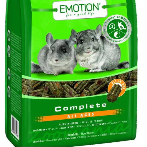 Качествена храна за чинчили с капризен апетит - Emotion® Complete 0.800 кг