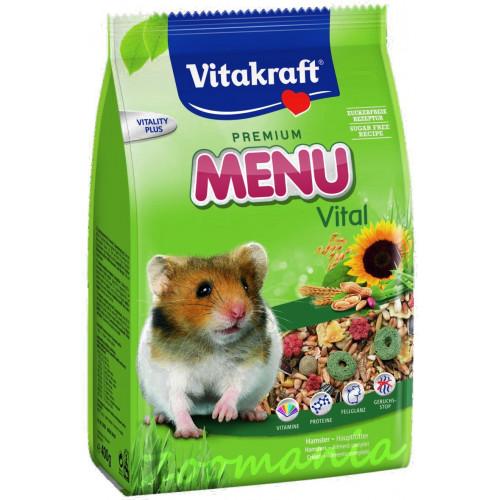 Качествена храна за хамстери Vitacraft Premium Menu Vital 0.400 кг
