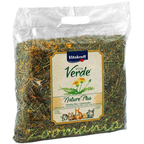 Сено Vita Verde с глухарче - 0.500 кг