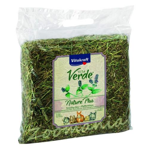 Качествено сено за гризачи Vitakraft Vita Verde с мента - 0.500 кг