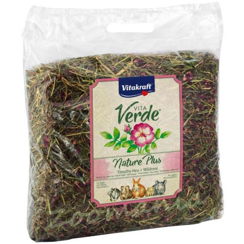 Качествено сено за гризачи Vitakraft Vita Verde с диви рози - 0.500 кг