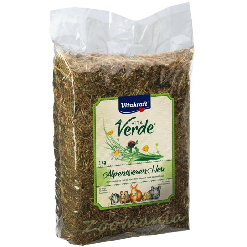 Качествено сено за гризачи Vitakraft Vita Verde от алпийски ливади - 0.500 кг