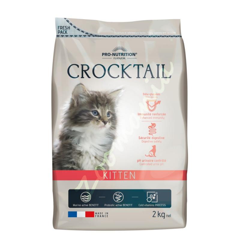 Качествена храна за котенца и бременни и кърмещи котки Flatazor Crocktail Kitten - 0.400 кг