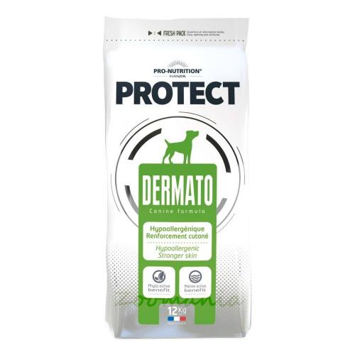 Лечебна храна за кучета с дерматологични проблеми Flatazor Protect Dermato - 12 кг