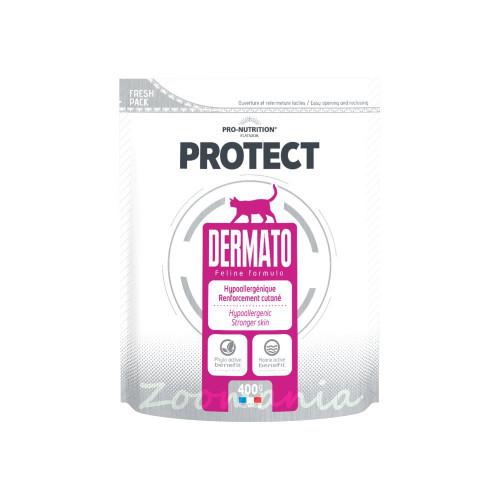 Лечебна храна за котки с проблемна козина - Flatazor Protect Dermato 0.400 кг