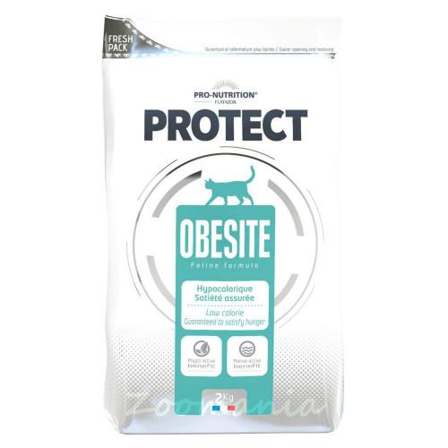 Диетична храна за котки с наднормено тегло - Flatazor Protect Obésité 2 кг