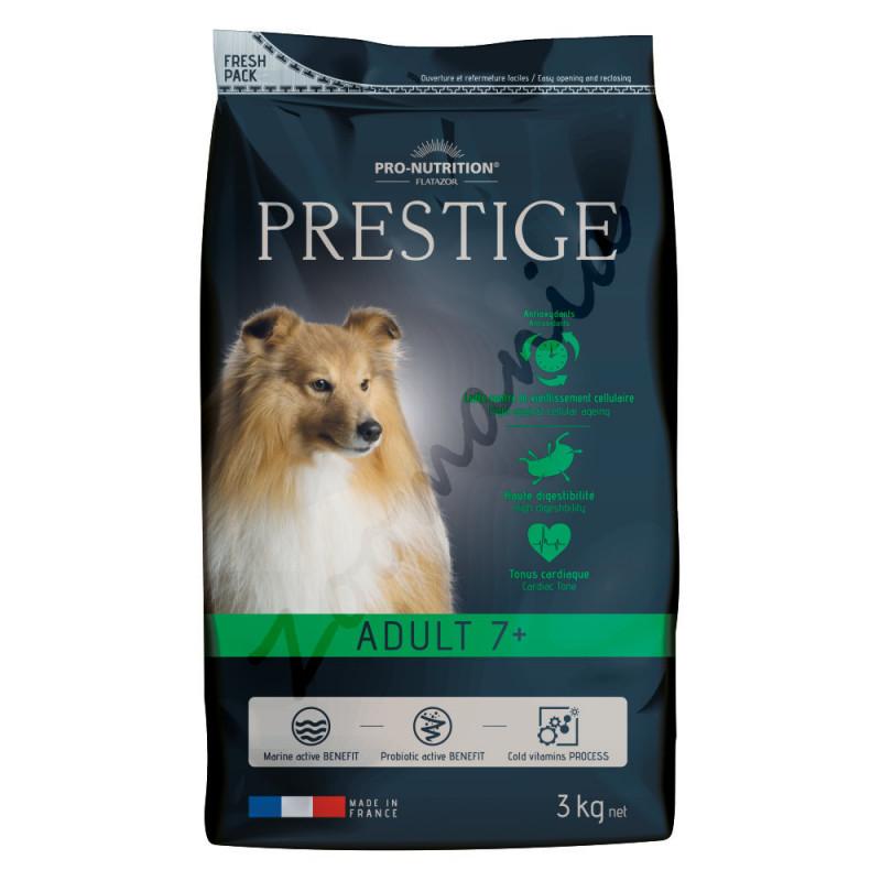Качествена храна за кучета по-възрастни от 7 години - Prestige Adult 7+ (3 кг)