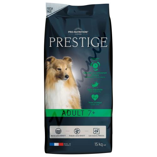 Качествена храна за кучета по-възрастни от 7 години - Prestige Adult 7+ 15 кг