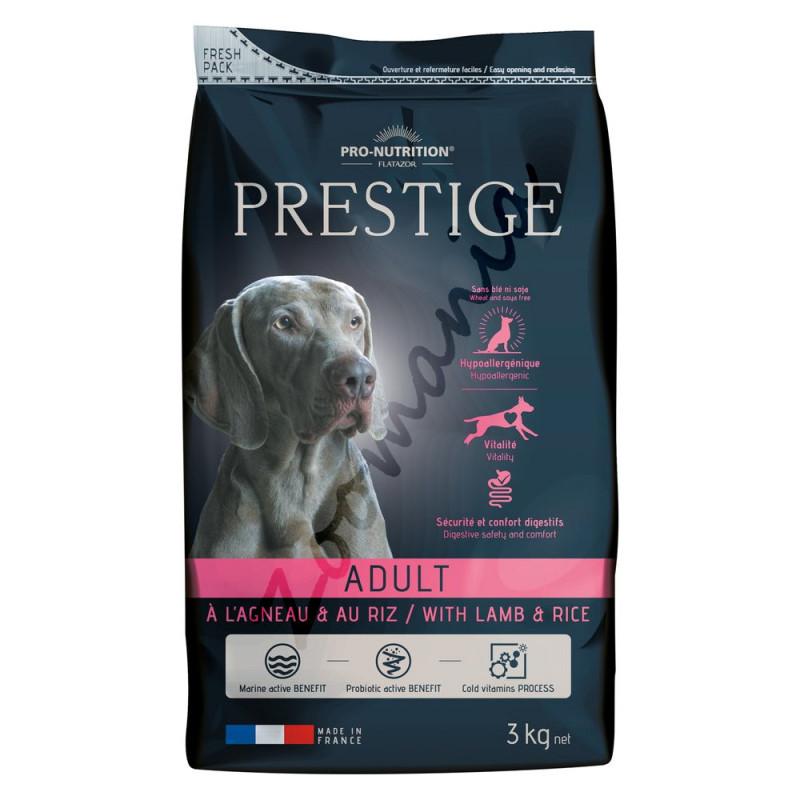 Хипоалергенна храна с агнешко за кучета от всички породи - Prestige Adult Lamb & Rice 3 кг