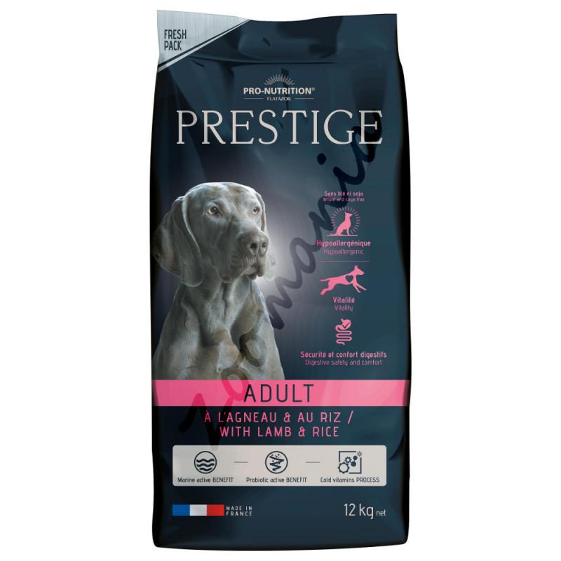 Хипоалергенна храна с агнешко за кучета от всички породи - Prestige Adult Lamb & Rice 12 кг
