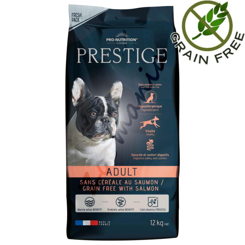 Беззърнена храна за кучета със сьомга - Flatazor Prestige Grain Free with Salmon 12 кг