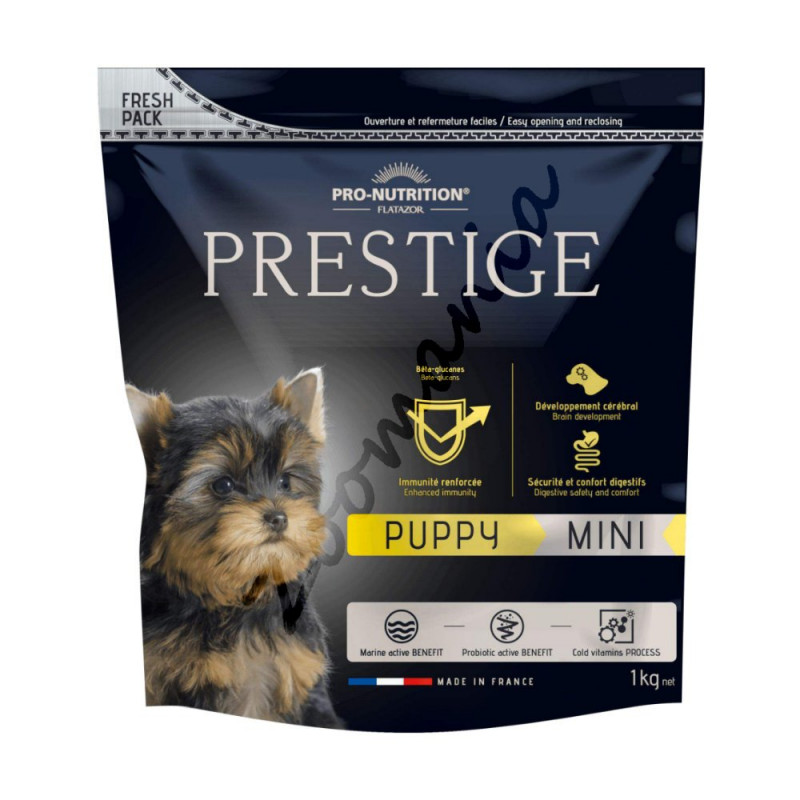 Вкусна и полезна храна за малки кученца - Flatazor Prestige Puppy Mini - 1 кг