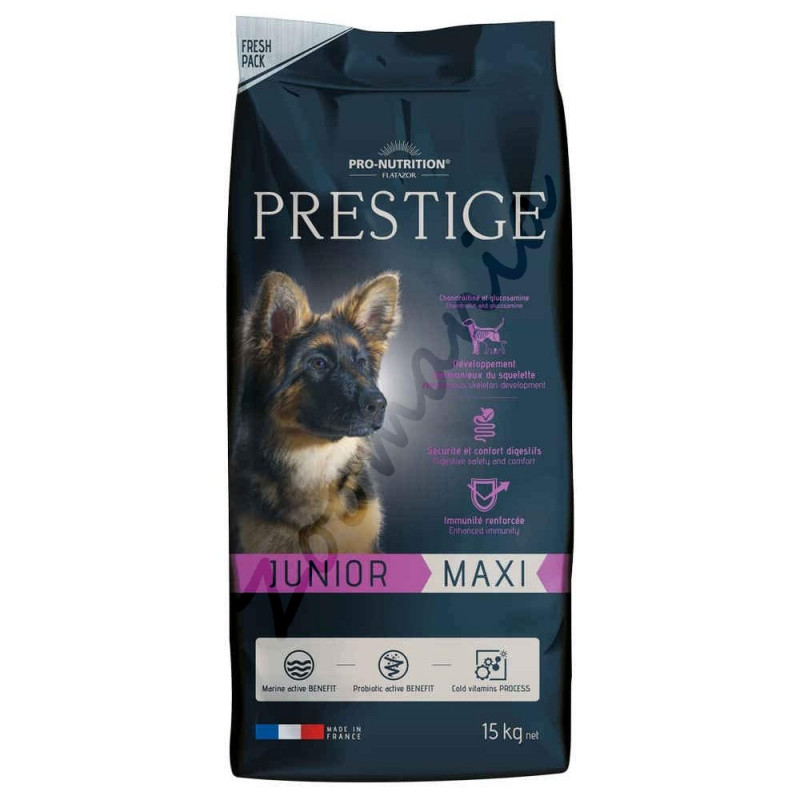 Супер премиум храна за кученца и млади кучета - Flatazor Prestige Junior Maxi 15 кг
