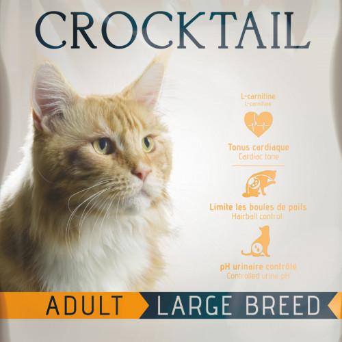 Котешка храна супер премуим клас с живи пробиотици - Flatazor Crocktail Adult Large Breed 2 кг