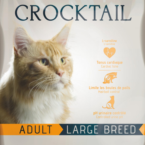 Котешка храна супер премуим клас с живи пробиотици - Flatazor Crocktail Adult Large Breed 10 кг