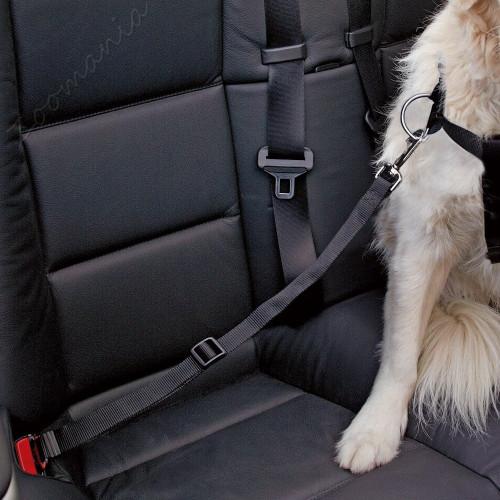 Нагръдник и предпазен автомобилен колан за куче