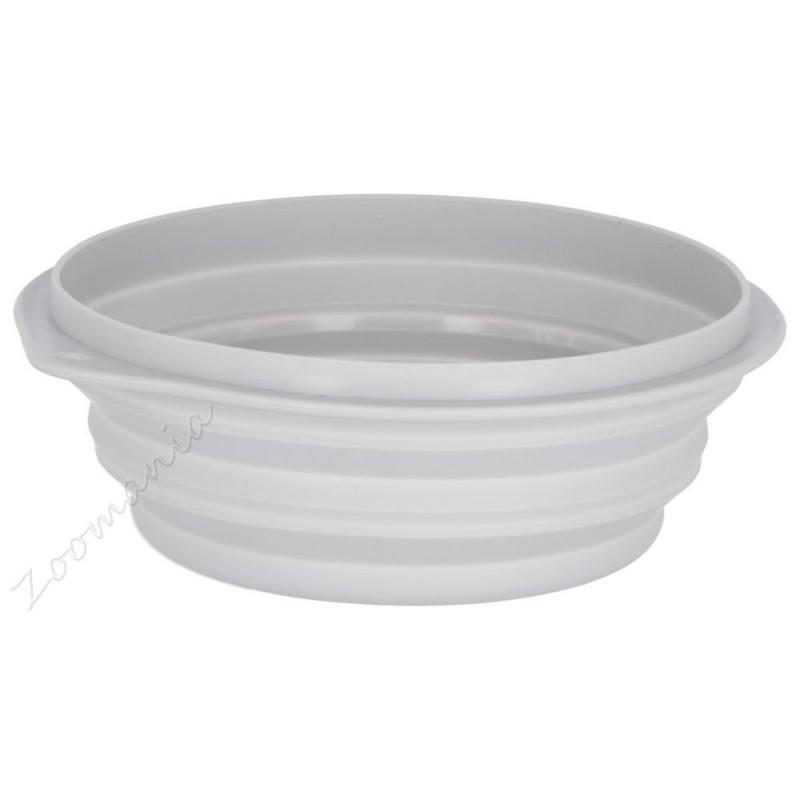 Сгъваема кучешка силиконова купа за храна и вода - 2 л