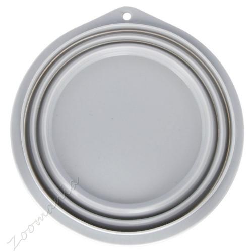 Сгъваема кучешка силиконова купичка за храна - 2 л