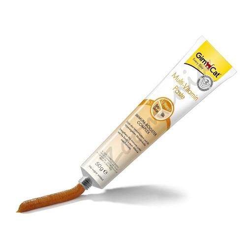 Допълваща храна за котки с 12 витамина GimCat Professional Multi-Vitamin Paste - 20 гр