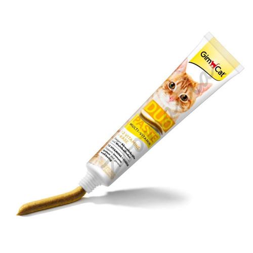Допълваща храна за котки със сирене и 12 витамина GimCat Duo Multi-Vitamin + Cheese - 50 гр