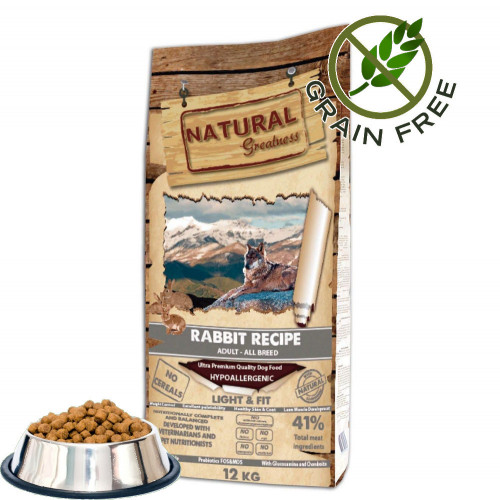 """Natural Greatness """"Light & Fit - Rabbit"""" 0.500 кг от чувал"""