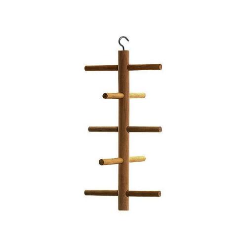 Дървена катерушка за клетка