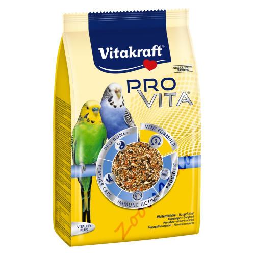 Пълноценна ежедневна храна за вълнисти папагалчета със супер премиум качество - Vitakraft PRO VITA® 800 гр