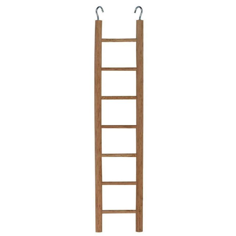 Дървена стълбичка за клетка - 32 см