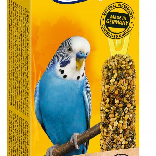 Неустоимо за всички вълнисти папагалчета лакомство Vitakraft Крекер Билки & Пиперки - 2бр
