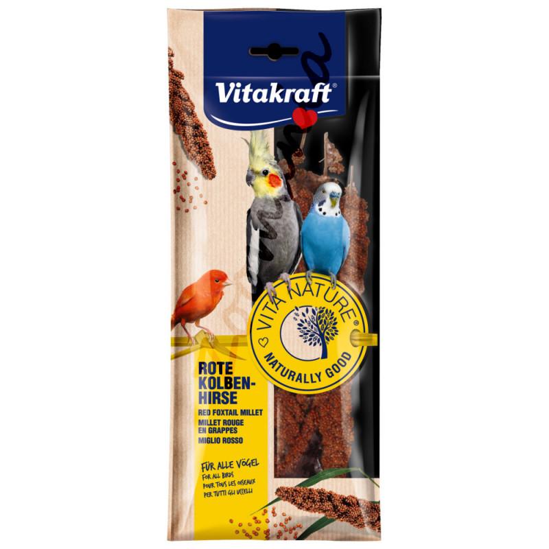 Лакомство за декоративни птици Vitakraft Червено просо - 100гр