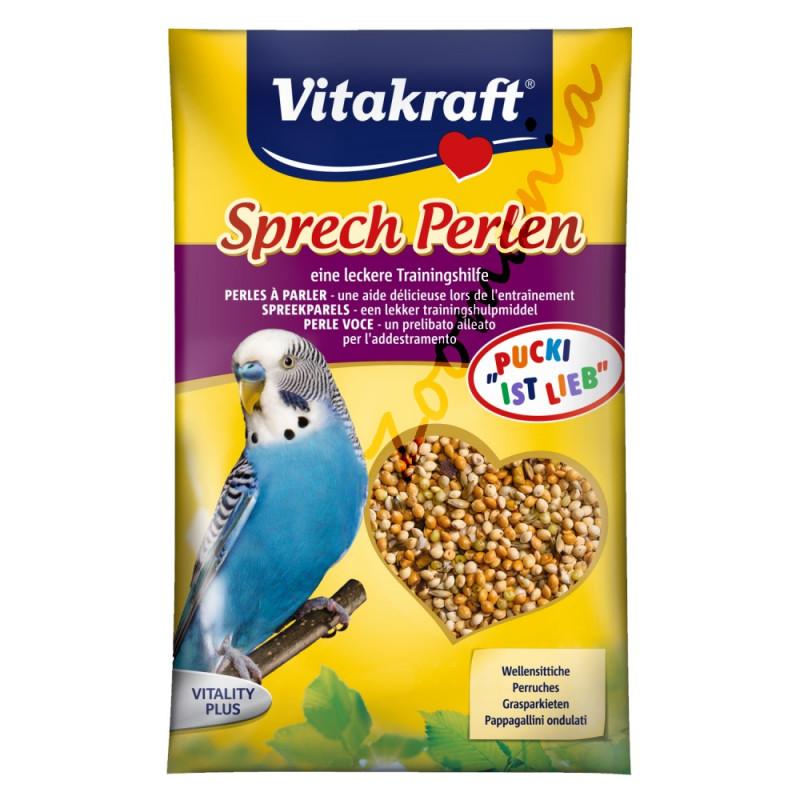 Качествени витамини за вълнисти папагалчета Vitakraft перли за говор - 20гр