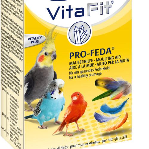 Качествени течни витамини за оперение на декоративни птици в клетка Vita Fit® Pro-Feda® - 100мл