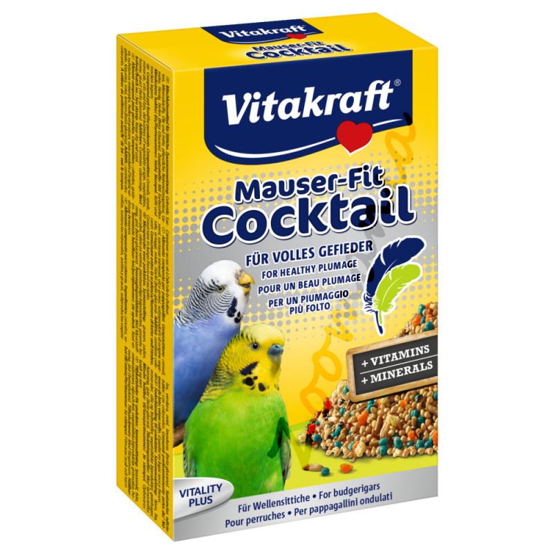 Витамини за вълнисти папагалчета Vitakraft коктейл за оперение - 100гр
