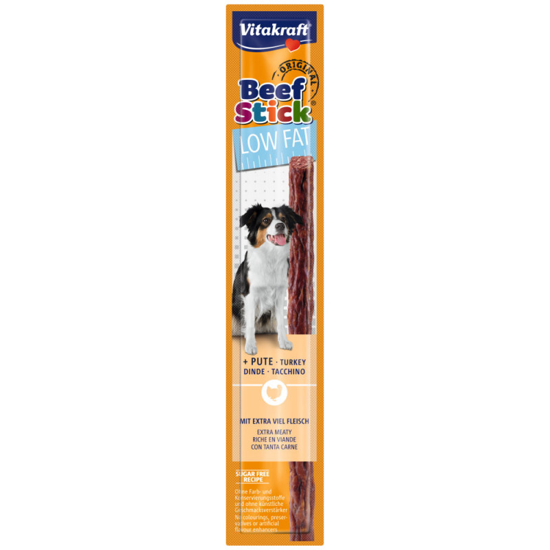 Диетично кучешко лакомство Vitakraft Beef Stick® Original Low Fat - 1бр.