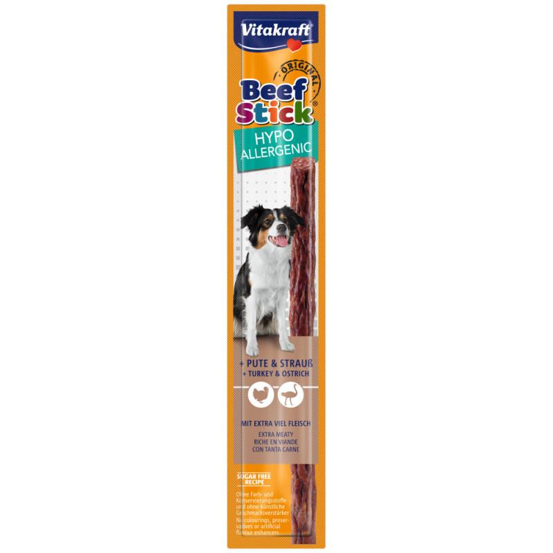 Качествено кучешко лакомство с месо от щраус Vitakraft Beef Stick® Original Turkey & Ostrich - 1бр.