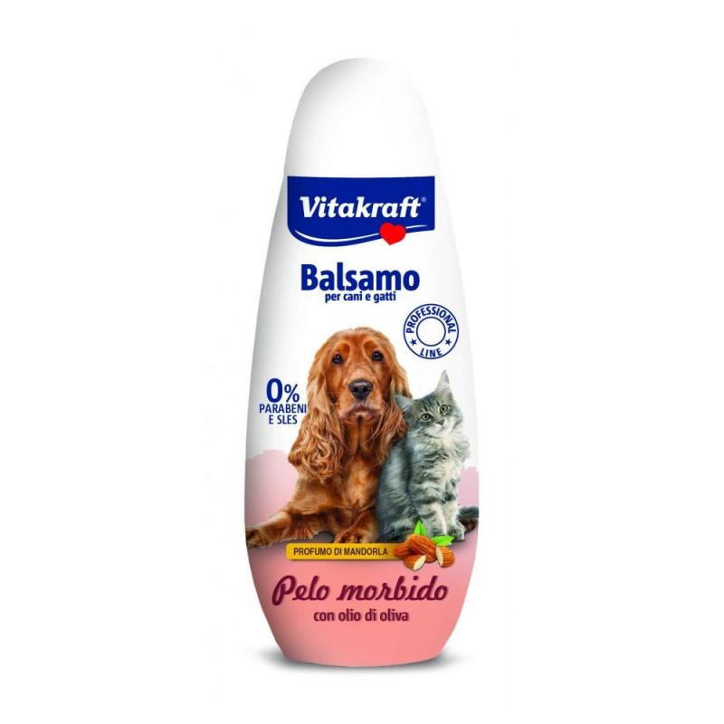 Качествен котешки балсам за копринена козина Vitakraft Soft Skin - 250мл