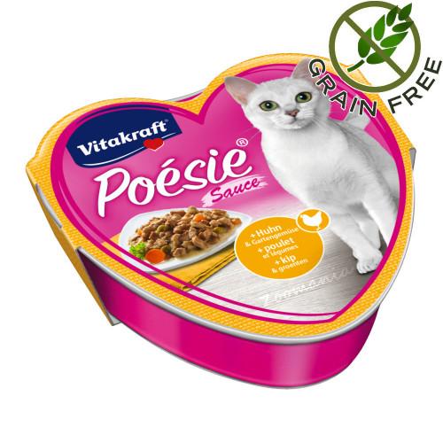 Poésie® Пилешко със зеленчуци в сос - 85гр