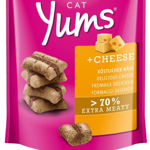 Вкусно котешко лакомство Cat Yums® меки хапчици със сирене - 40гр