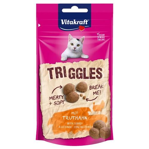 Triggles хапчици с пуешко - 40гр