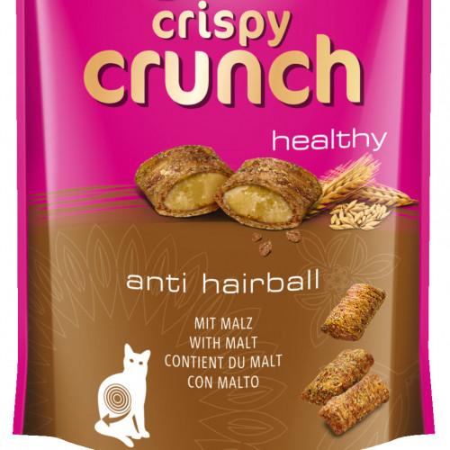 Котешко лакомство за космени топки Vitakraft Crispy Crunch малцови хапки - 60гр