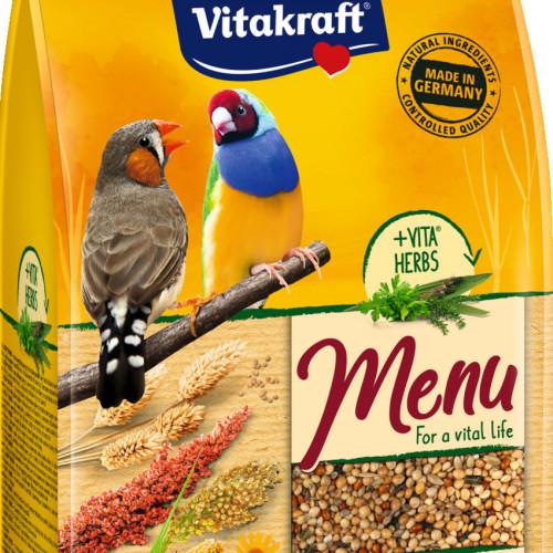 Качествена храна за финки Vitakraft Premium Menu Exotis - 500гр